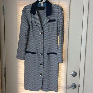 Vintage David Benjamin Dress Sz 7/8 Made In USA